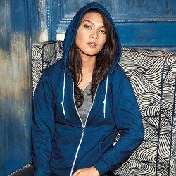 71600FL - Sweat-shirt à capuche zippé Femme Anvil