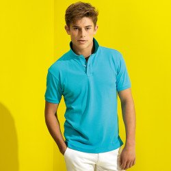 AQ005 - Polo homme en tricot extra doux