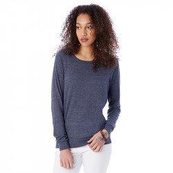AA1990 - Pullover femme ample en éco-jersey