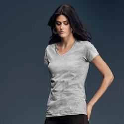 88VL - T-shirt col V léger Femme Anvil