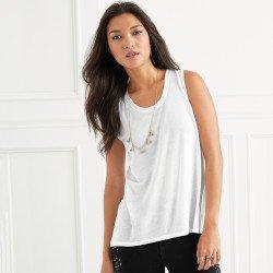 37PVL - T-shirt Sans Manches Femme