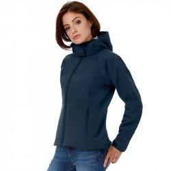 JW937 - B&C Hooded softshell /women