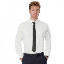 SMP21 - B&C Black Tie manches longues /men