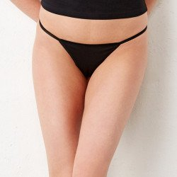 301 - String bikini en coton spandex