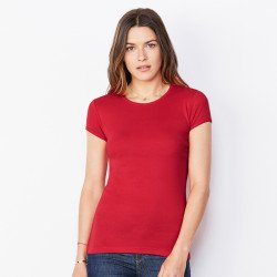 1001 - T-shirt col rond manches courtes