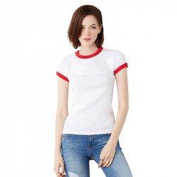 1007 - T-shirt ringer à manches courtes