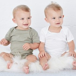 100B - Body bébé en jersey à manches courtes