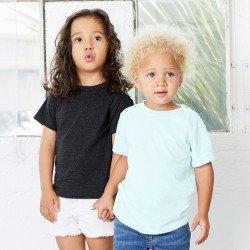 3413T - T-shirt jeune enfant en triblend à manches courtes