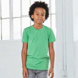 3413Y - T-shirt enfant en triblend à manches courtes