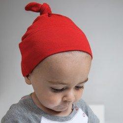BZ15 - Bonnet de bébé à nœud