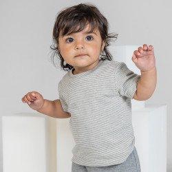 BZ45 - T-shirt bébé rayé