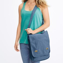343 - Sac canvas messager