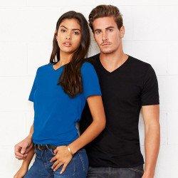 3005 - T-shirt col V en Jersey unisexe