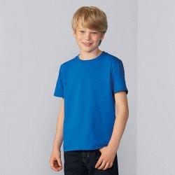 64000B - T-shirt en coton Ring-Spun Softstyle®