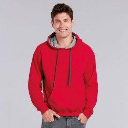 185C00 - Sweatshirt à capuche contrasté Heavy Blend™