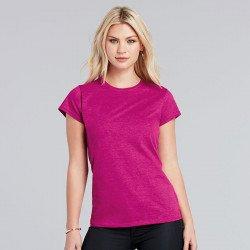 64000L - T-shirt femme en coton Ring-Spun Softstyle®
