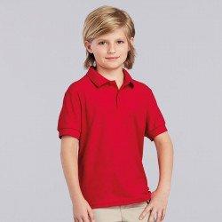 72800B - Polo de sport en piqué double DryBlend® enfant