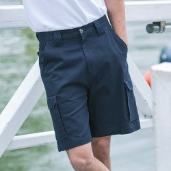 HB625 - Short cargo enduit de Teflon® Homme