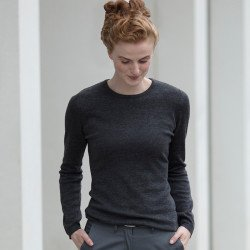 HB728 - Pull-over Femme à col rond