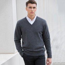 HB730 - Pull laine d'agneau colV Homme