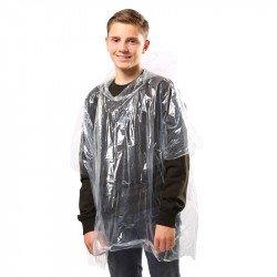 JB03J - Poncho de pluie en plastique enfant