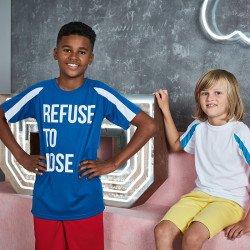 JC03J - T-shirt contrasté cool Enfant