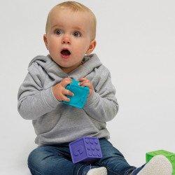 JH02B - Sweat à capuche SupaSoft pour bébés