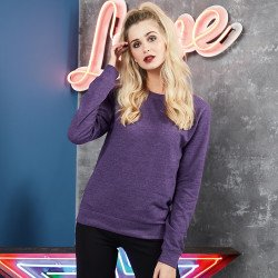 JH045 - Sweatshirt Girlie heather