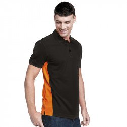 KB232 - Flag Polo bicolore manches courtes