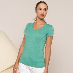 KB387 - T-shirt manches courtes mélange femme Kariban