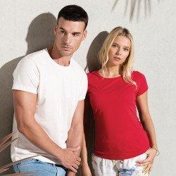 KB391 - T-shirt coton BIO col rond Femme
