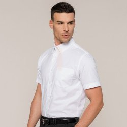 KB535 - Chemise Oxford manches courtes