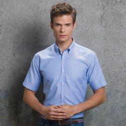 KK183 - Chemise slim Oxford Homme manches courtes Workwear