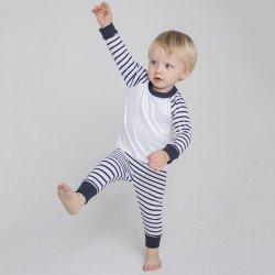 LW72T - Pyjama rayé
