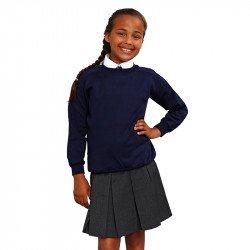 MD18B - Sweat-shirt à manches raglan arrondi Coloursure™ Enfant