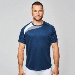 PA436 - T-shirt sport à manches courtes unisexe