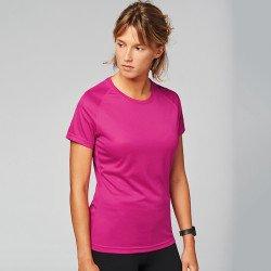 PA439 - T-shirt sport manches courtes femme