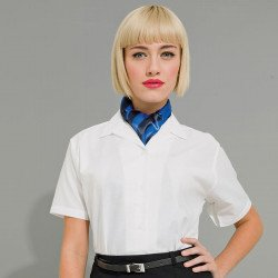 PR332 - Short Sleeve Oxford Blouse