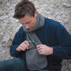 R100A - Écharpe polaire Active Fleece à poche zippée