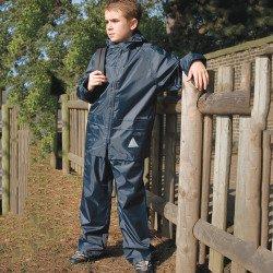 RE95J - Ensemble veste/pantalon imperméable épais Junior