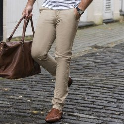 SD020 - Pantalon chino slim Adam