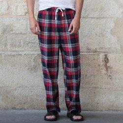 SFM83 - Pantalon confort laine tartan Homme