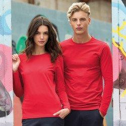 SK124 - T-shirt stretch «Feel Good» à manches longues pour femme