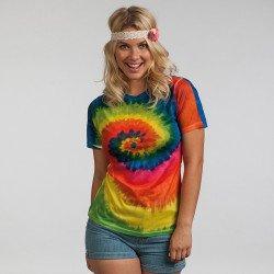 TD21M - T-shirt rainbow sublimé Femme