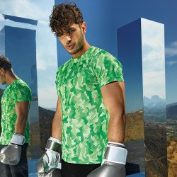 TR015 - T-shirt performance homme TriDri® Hexoflage™