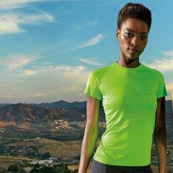TR021 - T-shirt TriDri® à empiècements femme