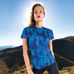 TR025 - T-shirt performance femme TriDri® Hexoflage™