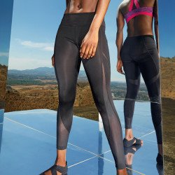 TR034 - Legging femme TriDri® long à pans techniques en filet