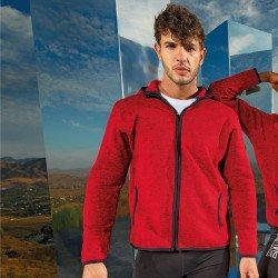 TR071 - Veste polaire homme en tricot mélangé