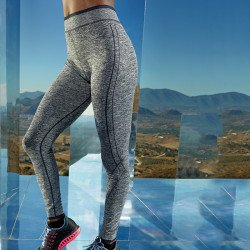"TR206 - Legging performance multi-sport femme ""Coupe 3D"" sans coutures"